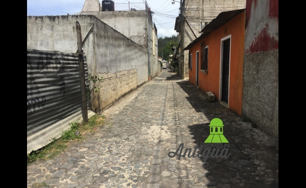 Land for sale in central Antigua Guatemala