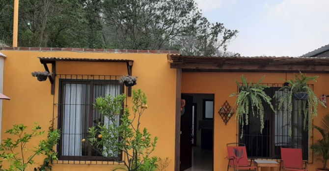 One level house for sale in Antigua